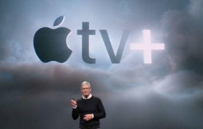 蘋果公司的遊戲串流將透過Apple TV。(美聯社)