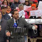 紐約華社集會反建監獄 籲市府傾聽民意