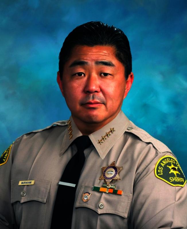 村上(Tim Murakami)升任洛縣警局副局長。(洛縣警局提供)