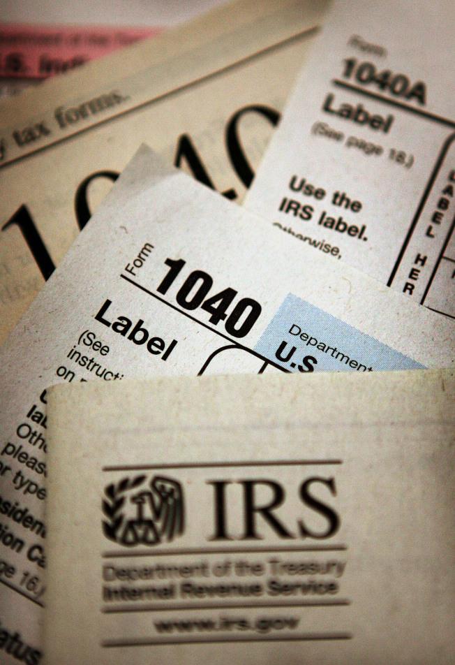 不用付稅的人遞交了稅表,可能有資格獲得退稅,即使你應繳的稅款為零。(美聯社)