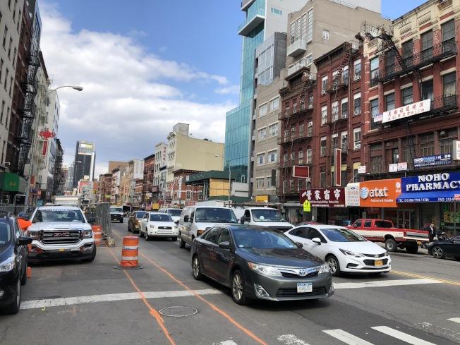 對進入曼哈頓車輛徵收「堵車費」的計畫有很大希望被加入新財年預算中。(記者洪群超/攝影)
