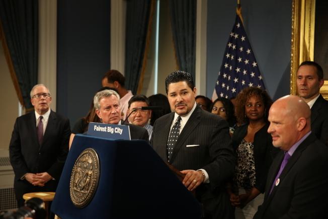 紐約市教育總監卡蘭扎。(本報檔案照)