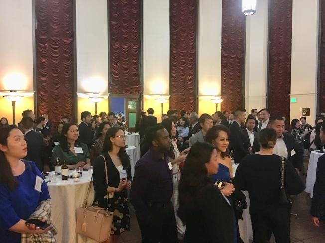 亞美政聯鼓勵青年多參與公共事務,並藉此平台讓不同領域的亞太裔人士彼此認識,建立人脈。(記者林佩錦/攝影)