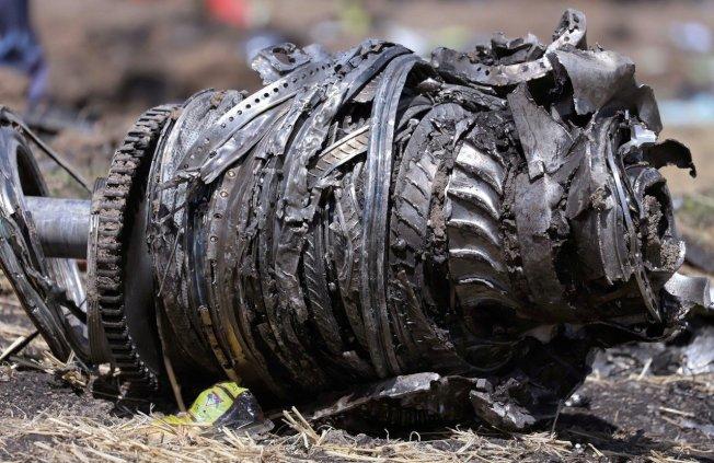 衣索比亞航空波音737 MAX客機失事初步結論,飛機墜地防失速裝置處於啟動狀態。 路透
