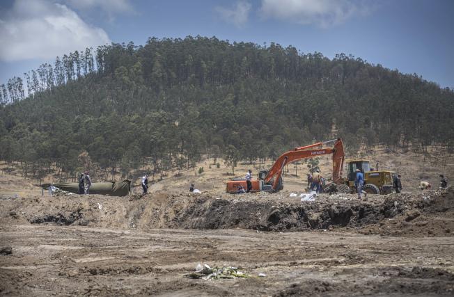 衣索比亞航空的失事地點衣索比亞比修福圖鎮(Bishoftu) 。美聯社