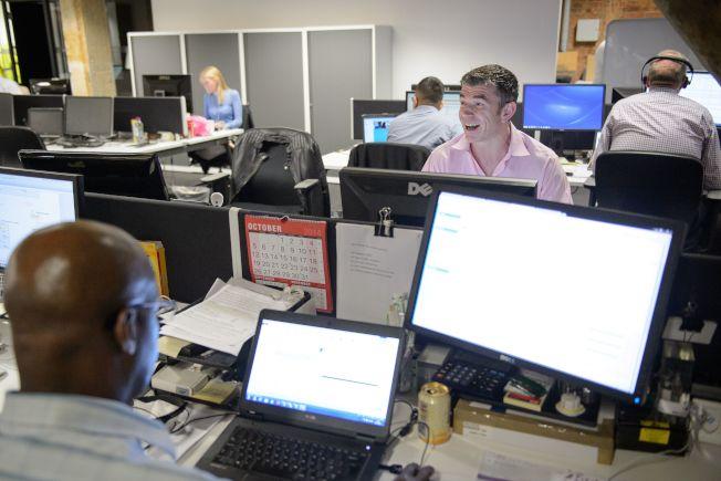 在員工各種心中交戰中,是否走人是最困難的決定。(Getty Images)