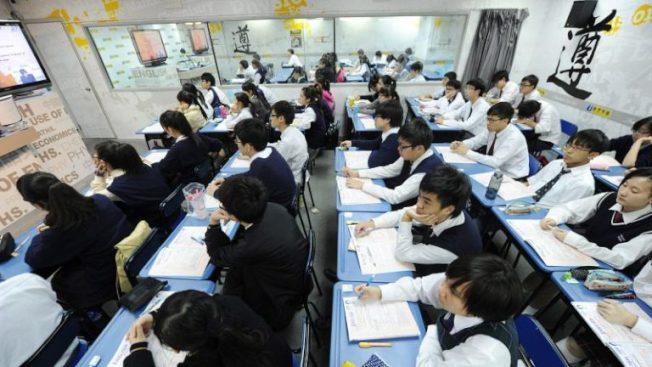 香港学生升学压力大。 (取材自超讯)