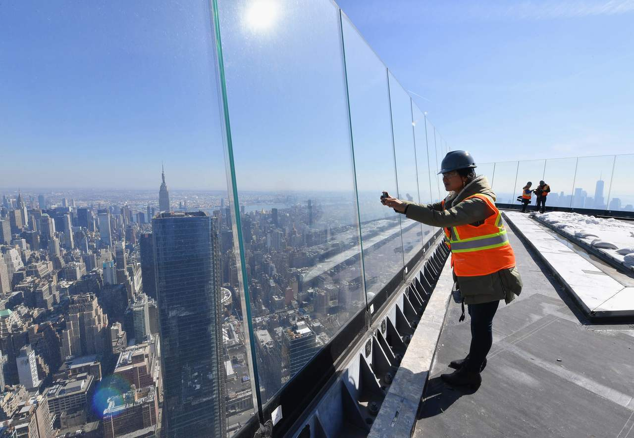 紐約的曼哈頓市中心正打造西半球最高戶外觀景台,有100層樓高,視野可鳥瞰紐約市天際線與大西洋,是一項耗資250億美元的龐大建案中最吸睛的一部分。Getty Images