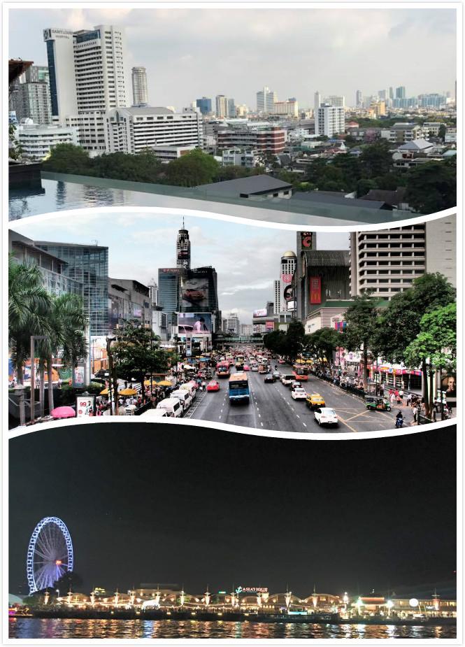 曼谷現代城市景觀