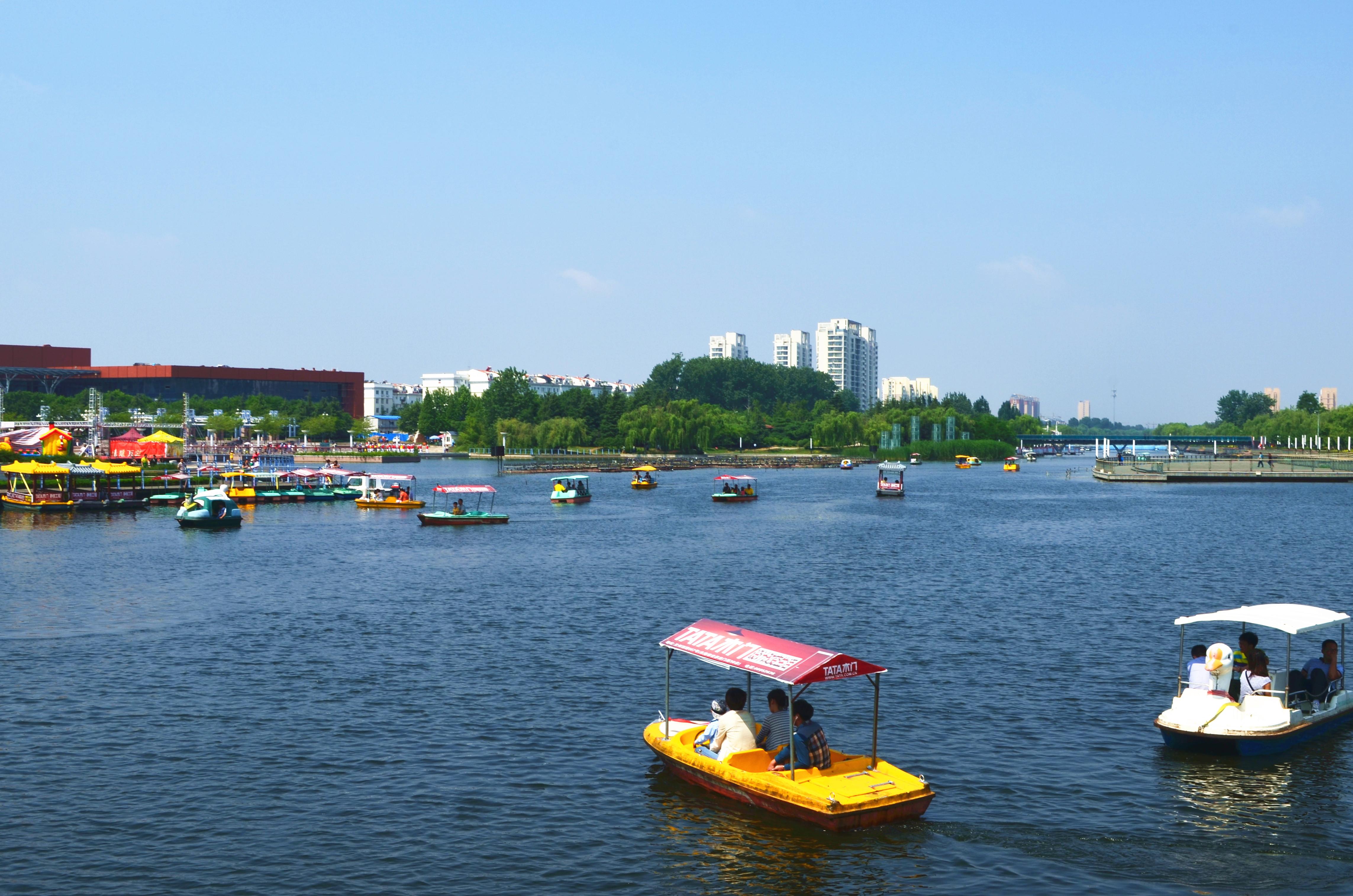 大沽河沿岸四時有風景,看膠州人文。