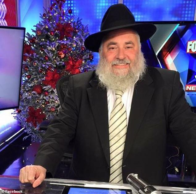 聖地牙哥以北的波維猶太教會堂發生槍案,會堂的拉比(rabbi)也中槍。(取自臉書)