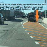 皇后區范威克快速路8號出口 今起關閉半年