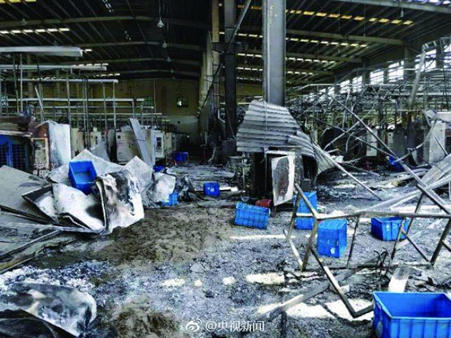 響水爆炸後…江蘇工廠10天內又爆!至少7死