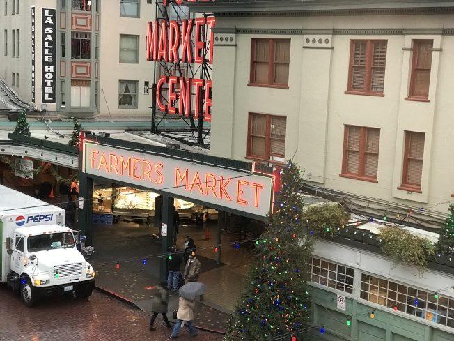 派克市場  西雅圖的聚寶盆