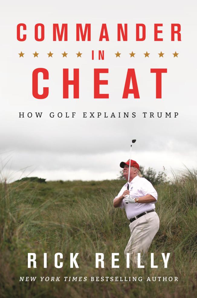新書「作弊統帥」揭露川普打高爾夫球,常常作弊。(美聯社)