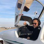 張博第2次環飛之旅 芝城啟航