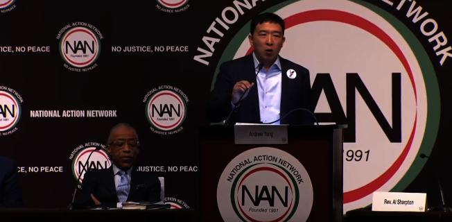 楊安澤獲邀在全國行動網路年會上演講。(全國行動網路提供)