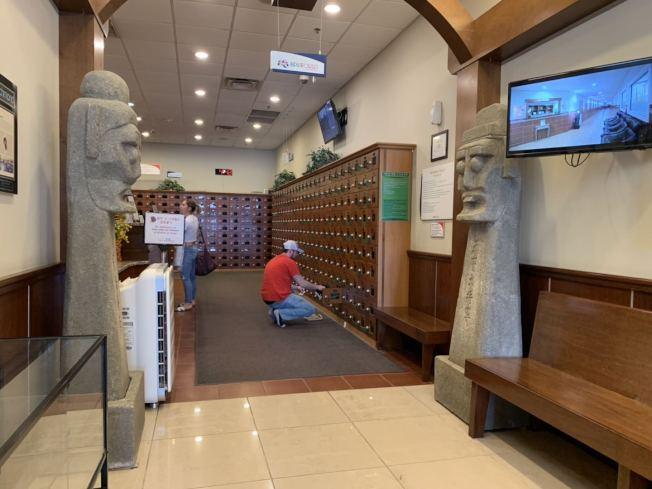 Spa World是韓裔開的洗澡堂,屬於亞洲風格。(記者張筠/攝影)