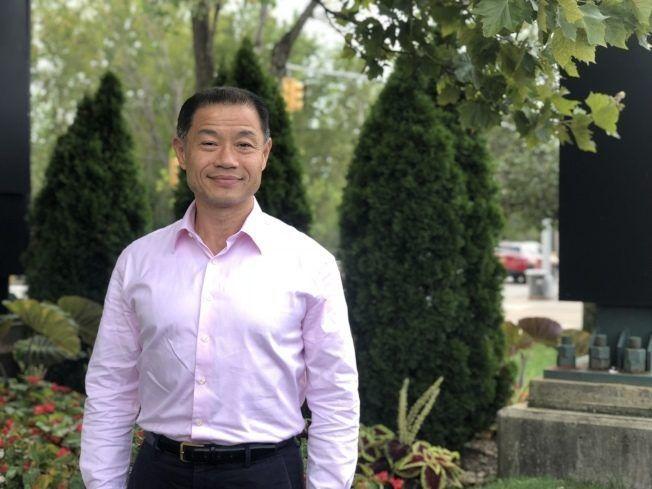 劉醇逸指出白思豪的特殊高中改革方案是針對亞裔的種族歧視。(本報檔案照)