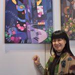 紐約藝術博覽會 南方二重唱林小南 老歌系列畫時報廣場