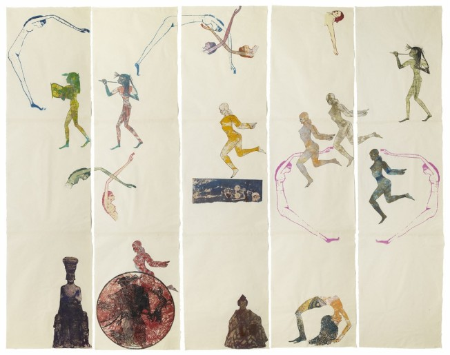 MoMA正在展出南希·斯佩羅作品。(MoMA提供)