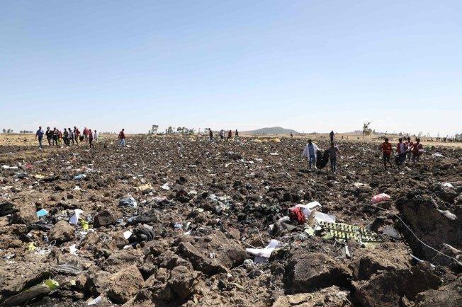 衣索比亞航空(Ethiopian Airlines)302班機上月空難初步調查報告出爐,失事客機機師在近乎6分鐘飛行期間,不曾放棄和機上自動飛行控制系統奮戰。圖╱Gettyimage