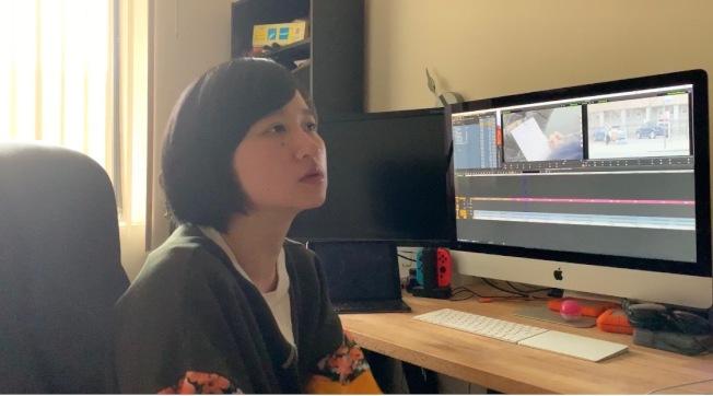 陳藝唯執導的「五分錢的辛勞:看見那些不可見的心酸」紀錄片7日播映。(記者賴蕙榆/攝影)