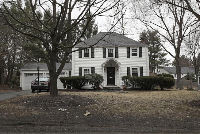 圖為哈佛擊劍隊教練布蘭登(Peter Brand)位於麻州Needham鎮的房屋。美聯社