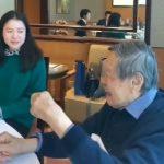 楊振寧與小54歲嬌妻近照曝光 「翁帆眼神像灌了蜂蜜」