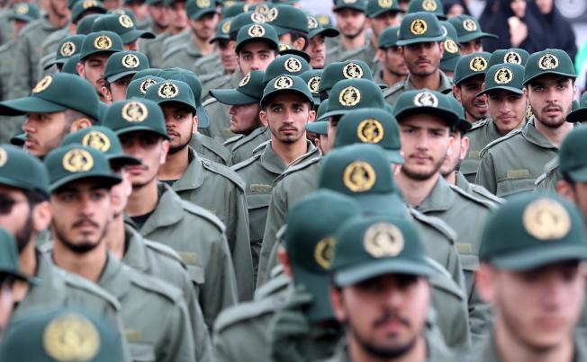 川普宣告伊朗革命衛隊為恐怖組織,是美國首次把其他國家的部隊列為恐怖組織。歐新社