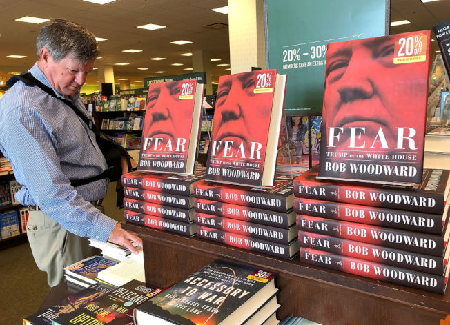 川普爆料書帶動美國出版業銷售成長。(Getty Images)