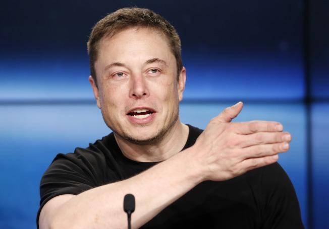 特斯拉和SpaceX公司執行長馬斯克是工作狂的代表。(路透)
