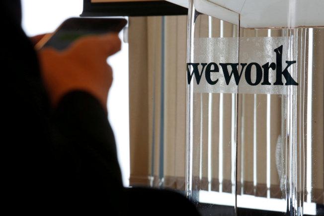 WeWork共享辦公空間遍及全球。(路透)