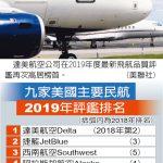 飛航品質評鑑 1張圖 看達美奪冠 去年冠軍今年變…第4