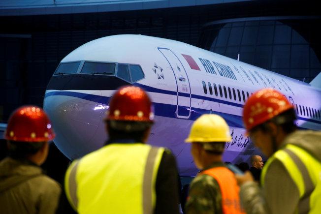 中飛租賃集團傳擱置100架波音737 MAX客機訂單。(路透資料照片)