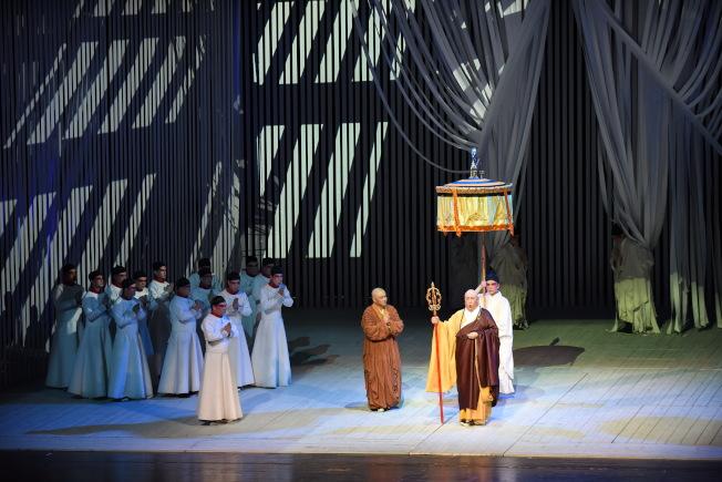 中國原創歌劇「鑒真東渡」劇照之一。(圖:出品單位提供)