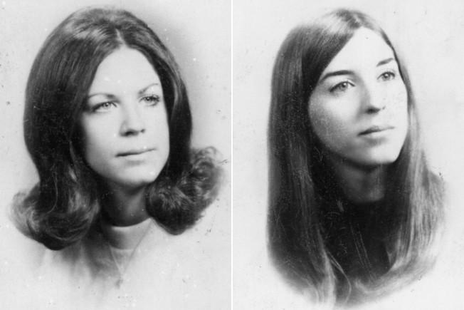 Janice Frances Pietropola(左)和Lynn Marie Seethaler(右)於1973年6月遭人謀殺。(維吉尼亞灘警局)