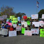 抗議性教育大綱 各族裔同聲示威