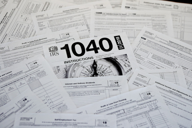 「稅太重」讓住在某些高稅率州的民眾感到壓力龐大。(美聯社)