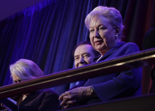 川普的法官姊姊瑪麗安‧川普‧巴瑞在檢察官調查川普家族稅務詐欺案之前突然辭職。(美聯社)