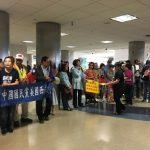 韓國瑜飛機已抵洛 近300僑胞機場迎接本報直播看這裡