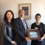 韓國瑜訪洛杉磯副市長  聊城市治理  談兩岸問題