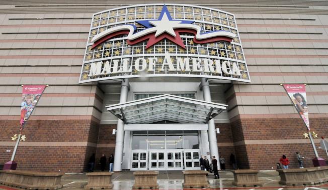 「美國購物商場」是全美最大的商場之一,也是明尼蘇達州布魯明頓的地標。(美聯社)
