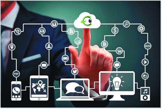 由於愈來愈多物品都用物聯網連結,科技公司獲取個人資訊就更容易。(路透)