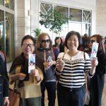 韓國瑜演講 華僑排長龍  下午轉飛北加