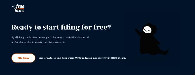 15日為報稅截止日,年收入低於6萬6000元的民眾可上網使用線上免費報稅服務。(網站MyFreeTaxes截圖)