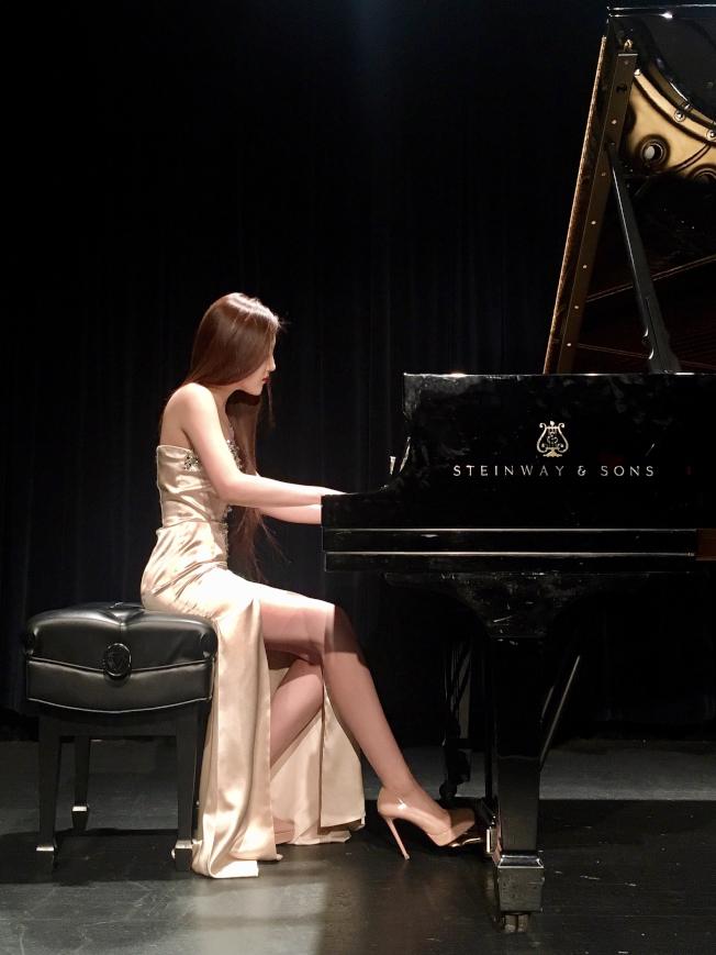 鄒茜瀅希望讓更多人聽到和喜歡古典音樂。(鄒茜瀅提供)