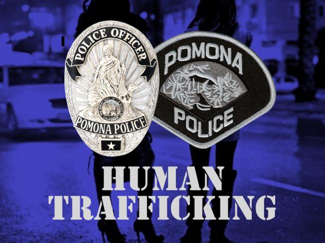 波莫那市警方近日在市區霍爾特走廊地帶,採取釣魚執法,解救一名被迫從事地下性交易的未成年少女。(警方提供)