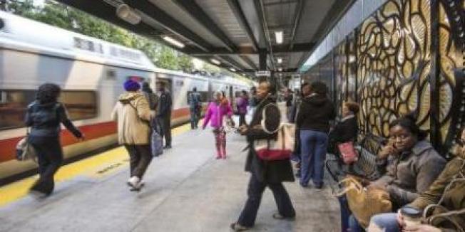 北方鐵路紐黑文線布朗士復敦站與曼哈頓大中央車站之間,14日開始雙向通車,圖為復敦站。(取自MTA網站)