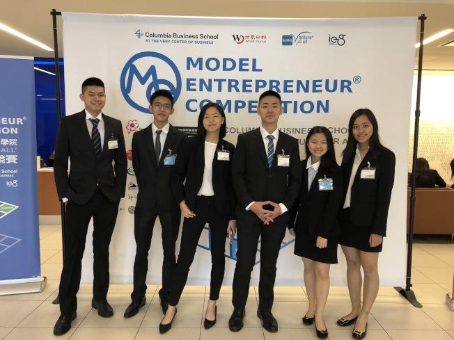 競賽的團隊中有兩組來自台灣,他們認為參加模擬競賽是很好的經驗,過程中學到很多。(記者林亞歆/攝影)